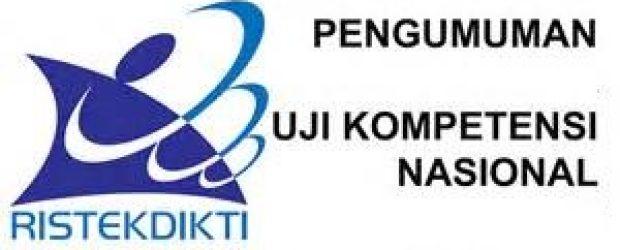 PENGUMUMAN HASIL UJI KOMPETENSI D-III KEPERAWATAN PERIODE OKTOBER 2019